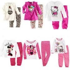 Girls <b>pajamas set Spring autumn</b> Wearing Long-sleeved pants ...