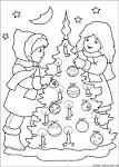 Раскраски для детей новый год