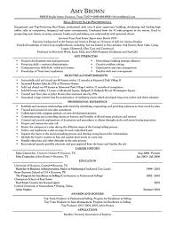 real estate resume for reaching success    real estate resume examples resume writter