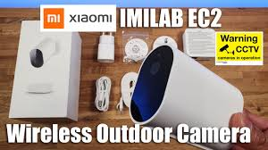 <b>Xiaomi IMILAB EC2</b> Wireless Outdoor Security Camera Unboxing ...