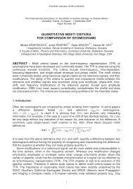 (PDF) <b>Misfit</b> Criteria for Quantitative Comparison of Seismograms
