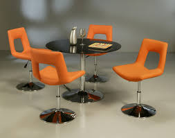Orange Dining Room Chairs Orange Dining Room Table At Alemce Home Interior Design