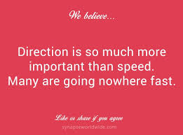 Strategic direction - inspiring quotes via Relatably.com
