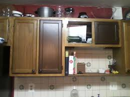 Diy Staining Kitchen Cabinets Diy Painting Metal Kitchen Cabinets Awsrxcom