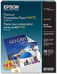 <b>Epson</b> S041568 Premium Presentation <b>Paper Matte Double Sided</b> ...