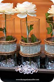 party table centerpiece ideas decoration elegant table decorations for party as i was wrapping the bling on a r