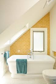 forget paint use subway tile to add color to your bathroom click through for cafe lighting 8900 marrakech wall