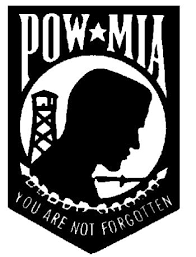 Image result for pow mia flag
