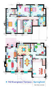 House of Simpson family   Both floorplans by nikneuk on DeviantArt    House of Simpson family   Both floorplans by nikneuk