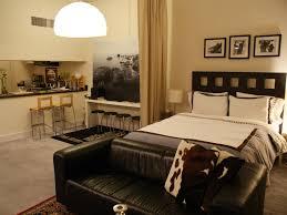 Modern One Bedroom Apartment Design Small Studio Apartment Decorating Ideas Warm Feel Studio