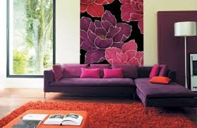 rugs living room nice: room nice retro art deco living room with black sofa and red rug also