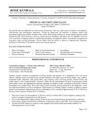 security officer resume sample security guard resumes security security objectives for resume