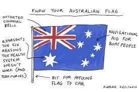 Image result for australian flag cartoon