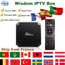 <b>Iptv</b> Box <b>X96</b> Mini Android Tv Box+1 Year <b>Iptv</b> Subscription <b>France</b> ...