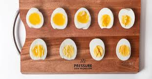 Perfect <b>Pressure</b> Cooker Soft, Medium, <b>Hard</b> Boiled Eggs Guide