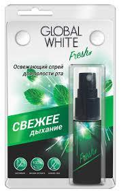 <b>Освежитель</b> для полости рта <b>Global White</b> 15 мл - отзывы ...