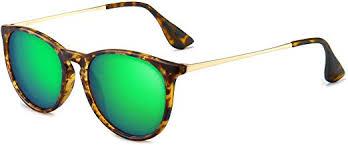 SUNGAIT Vintage Round Sunglasses for Women ... - Amazon.com