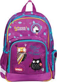 <b>Рюкзак</b> детский <b>Berlingo Light Nice</b> Owls, RU038066, бирюзовый