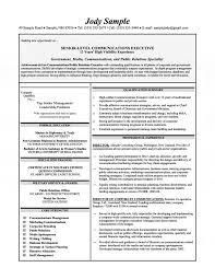 communications executive resume