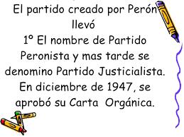Resultado de imagen para imagenes partido peronista