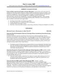 pmp resume sample breakupus marvelous perfect resume pmp resume sample best photos portfolio manager resume example project project portfolio manager resume