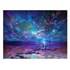 night's stars <b>diy 5d diamond painting</b> cross stitch embroidery crafts ...