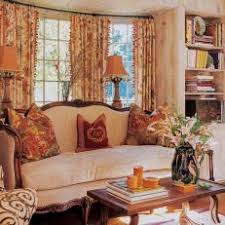 shabby chic living room with mixed floral patterns chic living room curtain