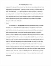 ib english hl year gatsby style analysis essay the great this is the end of the preview sign up to access the rest of the document