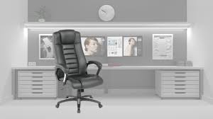 tectake - <b>LUXURY OFFICE CHAIR</b> - YouTube