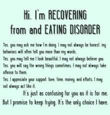 Bulimia Recovery on Pinterest | Eating Disorder Recovery, Ed ... via Relatably.com
