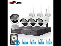 <b>Wetrans security cctv camera</b> P2P <b>system</b> kit nvr wifi camera ...