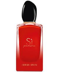 Giorgio <b>Armani Sì Passione Intense</b> Eau de Parfum Spray, 3.4-oz ...