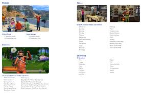 the sims 4 list of skills careers emotions traits aspirations world skills careers emotions