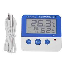 HITSAN Thermometer <b>Waterproof Digital LCD Thermometer</b> ...