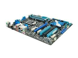 original motherboard for asus p7p55d le lga 1156 ddr3 i5 i7 cpu 16gb usb2 0 sata2 p55 desktop free shipping