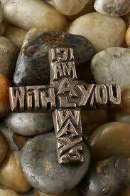 iron wall cross love: i am always with you bronze cross celebrate faith