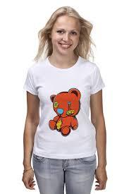 Футболка классическая Dead teddy bear #2009742 – заказать ...