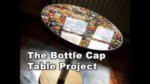 <b>Beer</b> Bottle Cap <b>Table</b> Tutorial Using Bottle Caps and Epoxy Resin ...