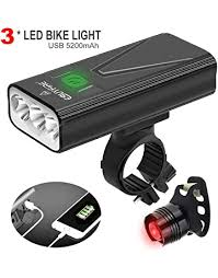 USB <b>Rechargeable Waterproof</b> IPX4 5 Modes ZWOOS Bike <b>Taillight</b> ...