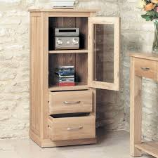 baumhaus mobel oak two drawer 1 door hi fi cabinet baumhaus mobel oak drawer