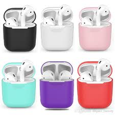 2019 TPU <b>Silicone Bluetooth Wireless Earphone</b> Case For AirPods ...
