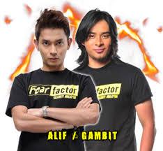 Gambit dan Alif Tersingkir - Fear Factor Selebriti Malaysia