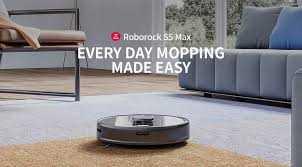 €384 with coupon for <b>Roborock S5 Max Laser</b> Navigation Robot Wet ...