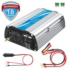 Giandel 600W Car Power Inverter DC 12 Volt to AC ... - Amazon.com