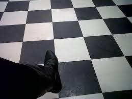 checkered floor masons