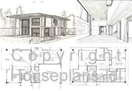 small modern house plans uk  plan ch papeland houses modern    modern small house plans modern house floor plans