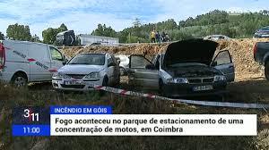 Incêndio em Góis fez dois feridos e atingiu 13 carros