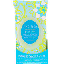 Pacifica, <b>Purify Facial Cleansing Wipes</b>, All Skin Types, 30 Pre ...