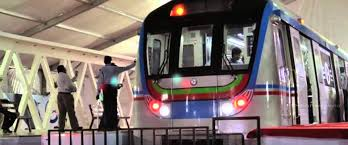 metro train ready to run in hyderabad   metro trains   by    metro train ready to run in hyderabad   metro trains   by dreamwaves
