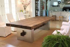 Custom Wood Dining Room Tables Wood Table For Natural Bar Products Custom Wood Tables And Images